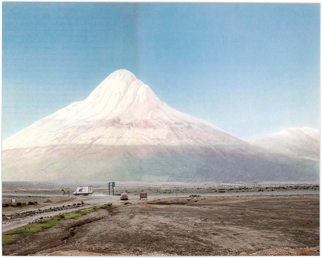 Chimborazo in Ecuador by Alexander Glandien